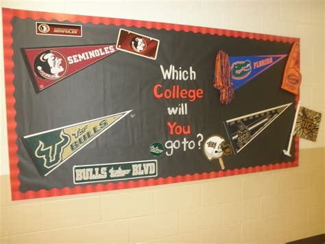 themes university teaching with a touch of twang hallway bulletin boards