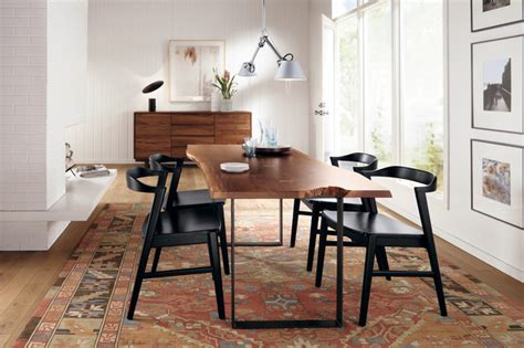 room and board dining table chilton dining table room by r b modern dining room