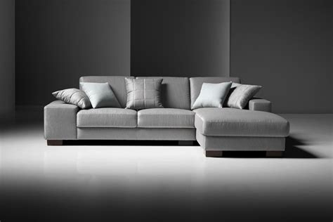 modern fabric sofa estro salotti arrone modern grey fabric sectional sofa