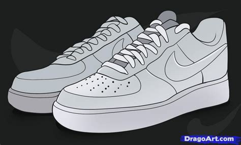 Nike Fullcolor White air ones free coloring pages
