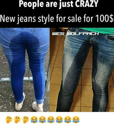 Jean Shorts Meme - people are just crazy new jeans style for sale for 100