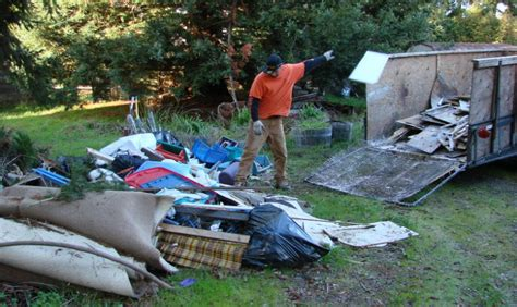 backyard cleanup services yard waste removal green waste disposal in santa rosa
