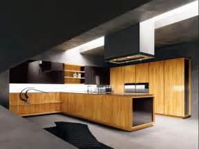 Modern Kitchen Wood Cabinets by Modern Kitchen With Luxury Wooden And Marble Finishes