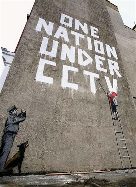 Out And About Nation 2 by Banksy Quot One Nation Cctv Quot Hypebeast
