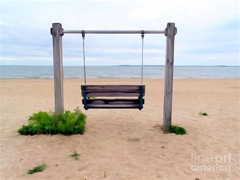 beach swing beach swing photograph by ed weidman