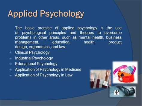 Psychology Applied14 introduction to psychology ppt