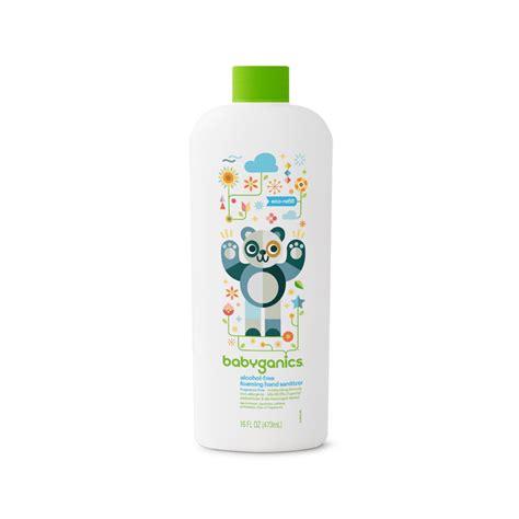 Baby Ganics Foaming Sanitizer Fragrance Free 250ml free foaming sanitizer refill fragrance free babyganics