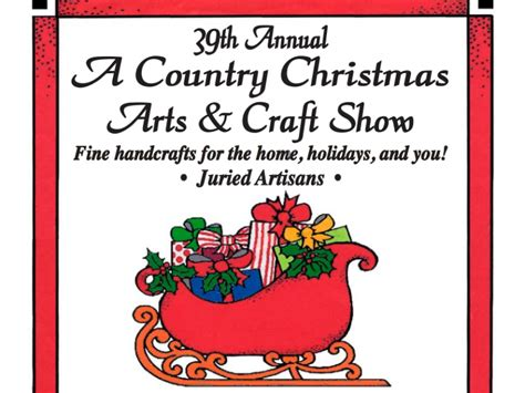 39th annual a country christmas arts craft show patch