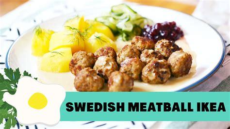 Swedish Meatball Ikea resep swedish meatballs ikea