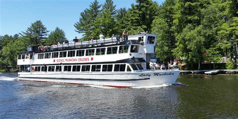 boat tours ontario lady muskoka boat tours in muskoka ontario