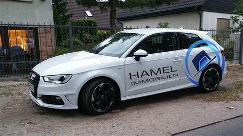 Auto Immobilien De by Fahrzeugbeschriftung F 252 R Hamel Immobilien