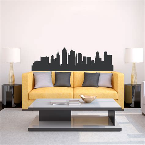 wall stickers city city skyline vinyl wall stickers wall murals you ll