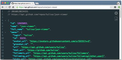 chrome json viewer tulios json viewer it is a chrome extension for printing