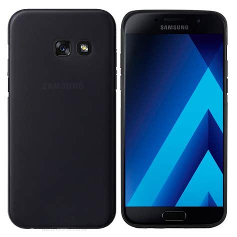 Samsung Galaxy A3 2017 Black Garansi Resmi 1 Tahun samsung galaxy a3 2017 h 252 lle schwarz matte r 252 ckseite moodie moodie shop