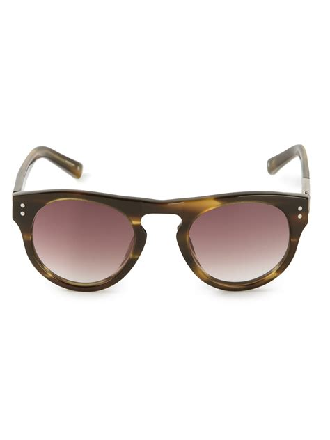 3 1 phillip lim tortoise shell sunglasses in brown for