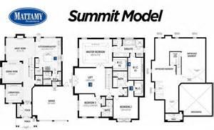 Mattamy Homes Floor Plans Mattamy Homes In The Preserve Oakville The Preserve