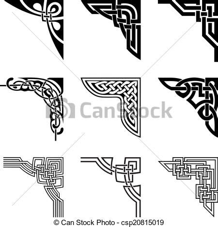 Celtic Wedding Knot Clipart by Celtic Knot Corner Clip 65