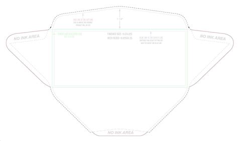 printable envelope vector envelope template measurements mayamokacomm