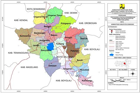 Multimeter Di Semarang peta kota peta kabupaten semarang