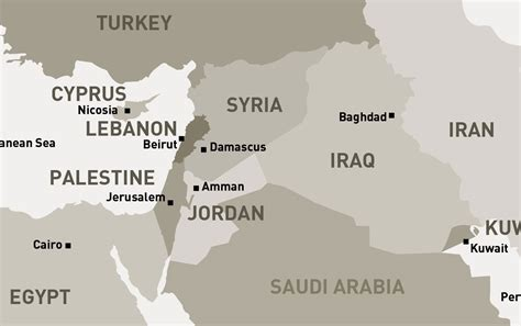 middle east map lebanon syria suez canal map middle east