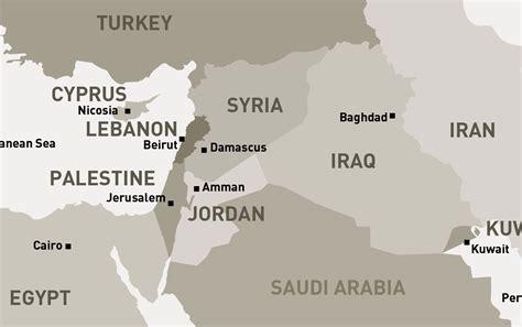 syria middle east map middle east map syria mappery