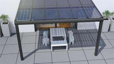 Hauseingangstür Aluminium Preis by Solarcarports Und Solarterrassen Ab 0 Aus Holz Alu