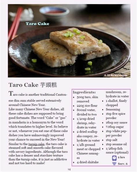 new year taro cake recipe sichuan bacon and sausage yi reservation