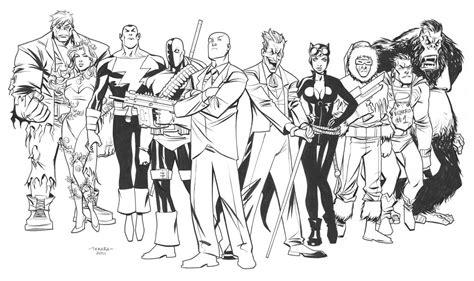 superhero villain coloring pages coloring pages