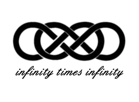 infinity tattoo times square infinity times infinity double infinity symbol romantic