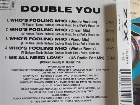 preguntas y respuestas whose double you who s fooling who cd maxi single 5 tracks