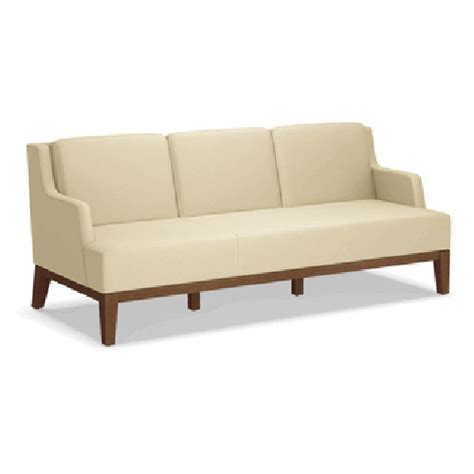 kimball sofa kimball pose reception lounge lobby sofa three seater