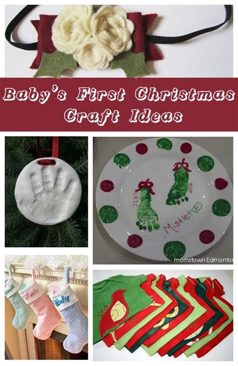 baby s first christmas craft ideas christmas crafts