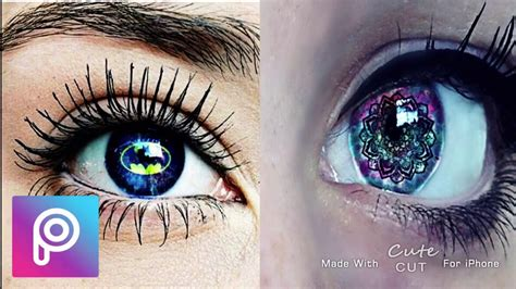 imagenes reales de ojos ojos tumblr efecto 2 galaxia picsart youtube