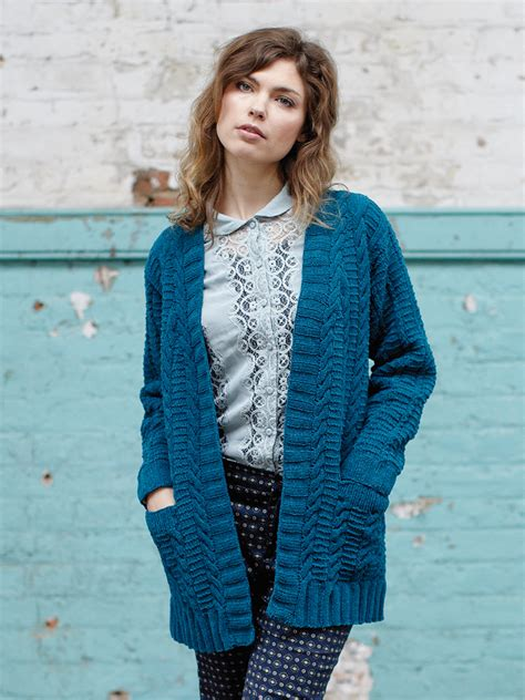 pattern cardigan knitting ladies long line cardigan knitting pattern long sweater