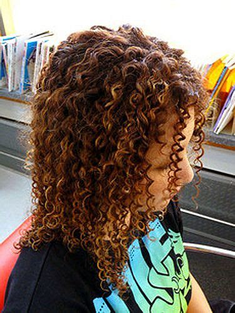 boomarang perm photos on long hair 25 best ideas about tight spiral curls on pinterest