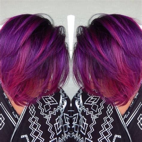 40 versatile ideas of purple highlights for blonde brown 40 versatile ideas of purple highlights for blonde brown and red hair bobs purple highlights