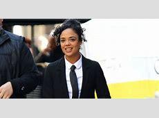 Tessa Thompson Shows Off Her 'Men In Black: International ... International Trademark Suit