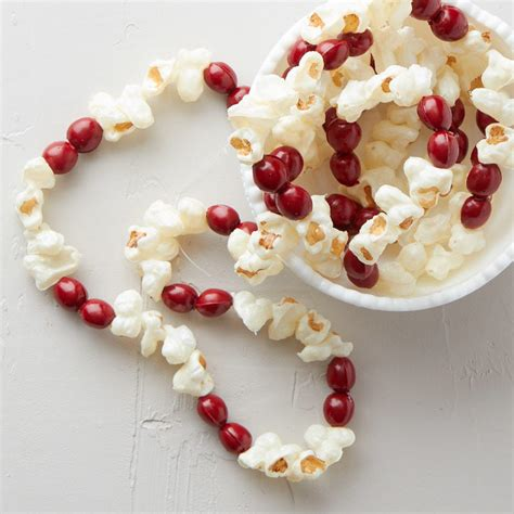 artificial popcorn cranberry garland artificial popcorn and cranberry garland
