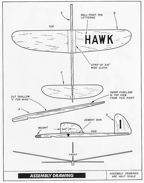 chuck glider plans