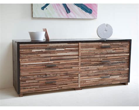 really interesting unique reclaimed wood dresser designs