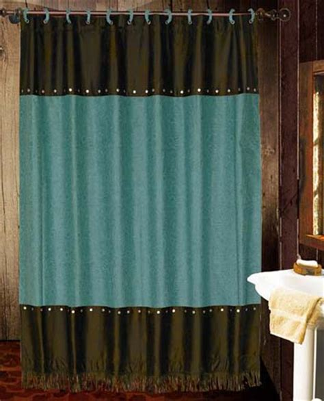 western bathroom shower curtains cheyenne western shower curtain cheyenne turquoise western