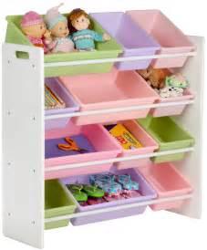 kid storage honey can do 12 bin kids toy storage organizer white