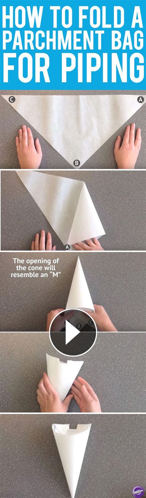 How To Make Icing Bags Out Of Greaseproof Paper - 25 best ideas about cake writing on wilton