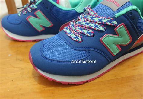 Sepatu Cewek Nb 574 New Balance 574 Wanita blue black pink sepatu kets sangat nyaman untuk