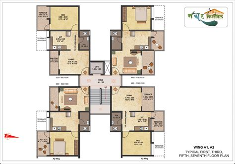 1bhk floor plan 1 bhk apartment floor plan overview mayur kilbil at