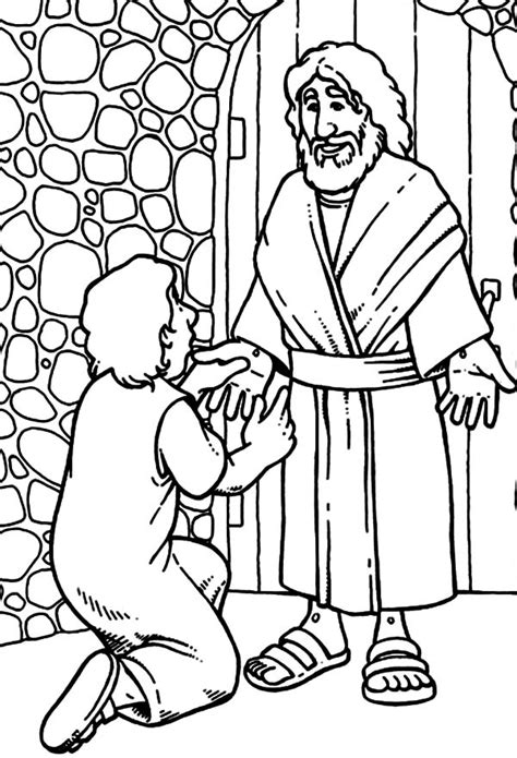 coloring page for doubting thomas great doubting thomas coloring page gallery exle