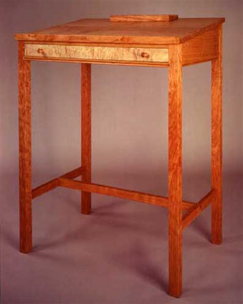 stand  desk plans wood  woodworking