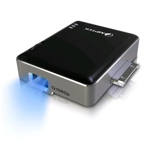 iphone projector aiptek mobilecinema i20 plus pico projector for iphone 3gs