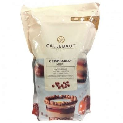 Callebaut Crispearls Stramberry 800 Gram callebaut chocolade crispy pearls melk 800 gram