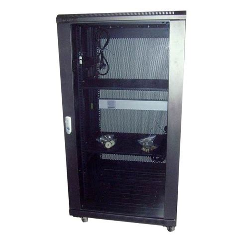 Smoke Rack by Linkbasic Server Rack Smoke Glass Door 22u 1000mm Depth